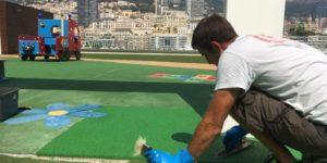 Réparation sol souple Monaco