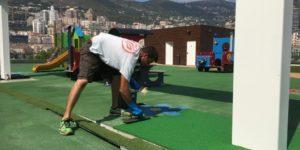 Réparation sol souple EPDM Monaco