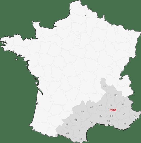 Notre entreprise est basée au carrefour de la Drôme et du Vaucluse, nous installons des aires de jeux, des revêtements sportifs et du sol amortissant.