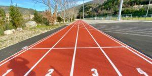 Piste d'athlétisme Nyons, Drôme, Auvergne-Rhône-Alpes