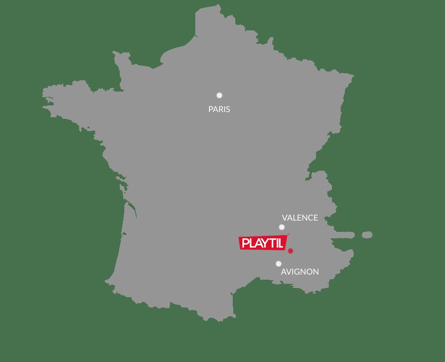 contact playtil : sols amortissants, revêtement sportifs - Drôme Vaucluse
