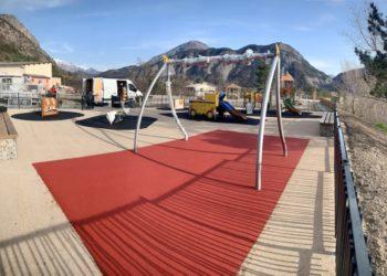 Sol souple aire de jeux Hautes-Alpes