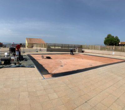 Revêtement pour parc aquatique à Barcarès (66)
