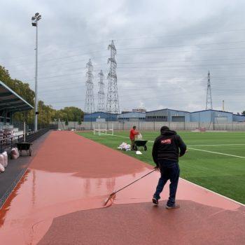 Piste d'athlétisme Ile Saint-Denis (93)