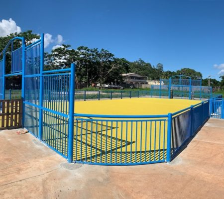 City-stade EPDM Mayotte