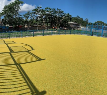 City-stade EPDM Mayotte