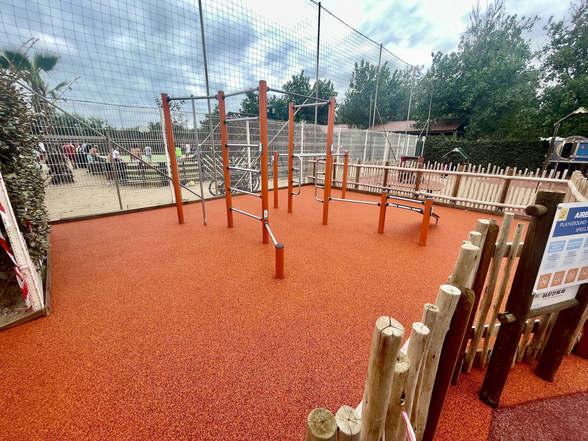 sol amortissant EPDM camping FITNESS
