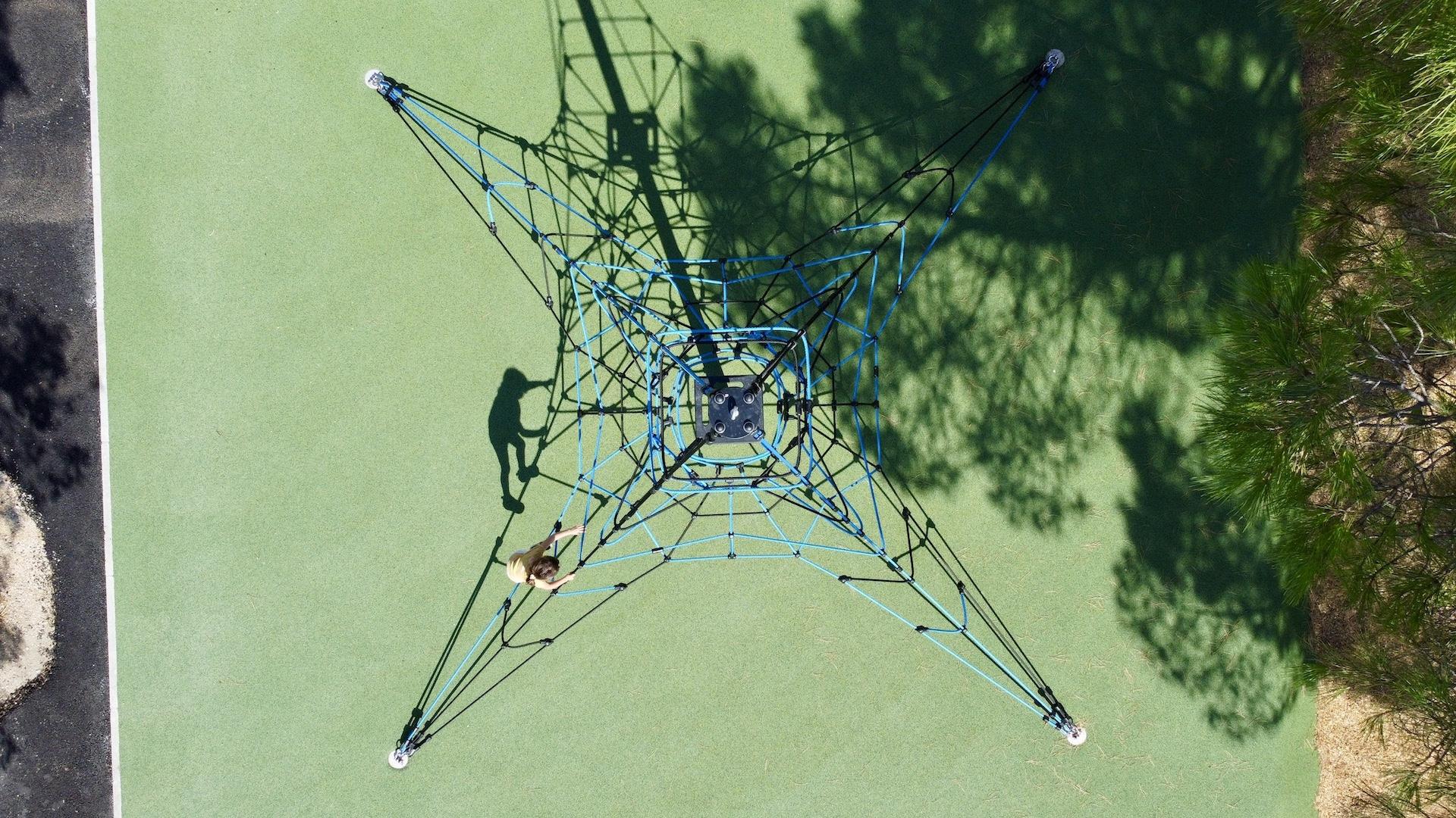 pyramide de cordes drôme